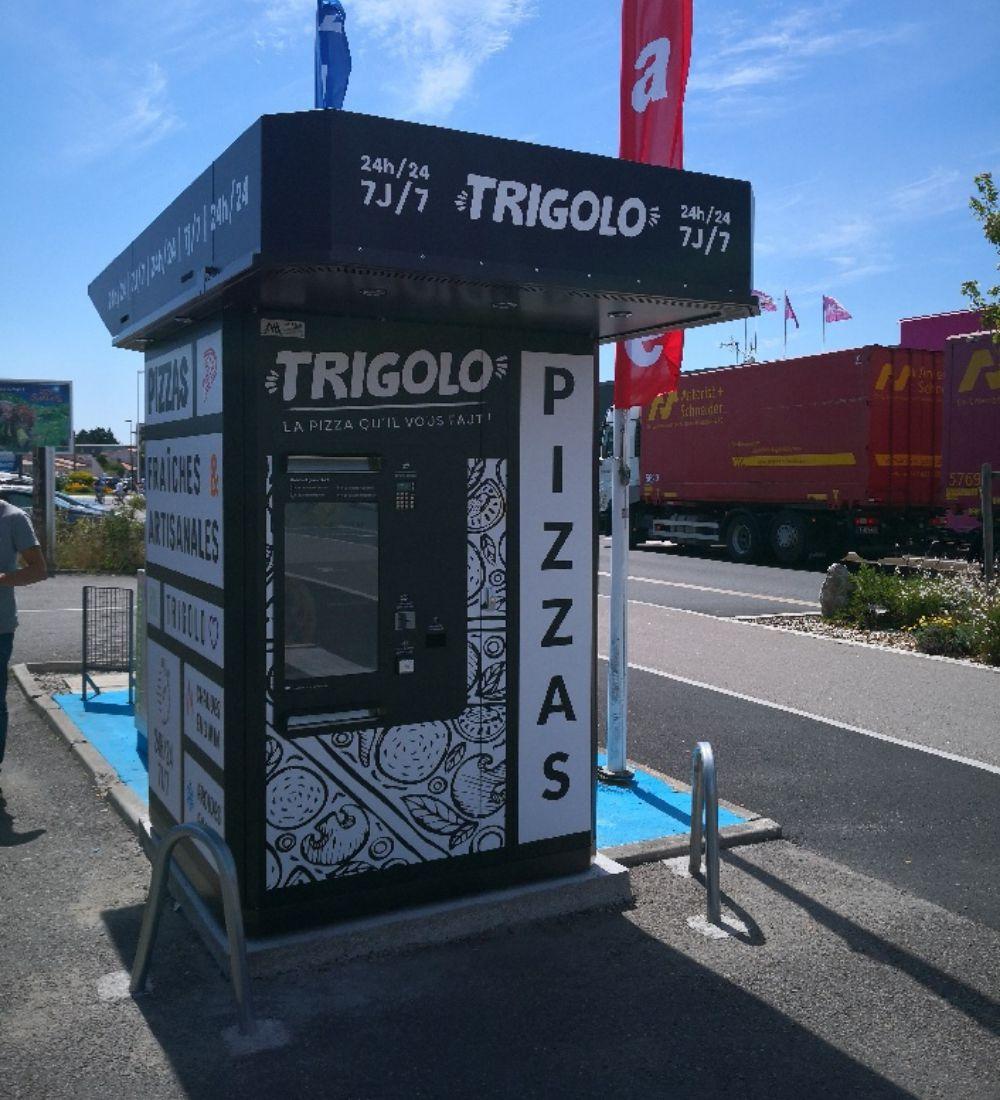 Installation de distributeurs automatiques