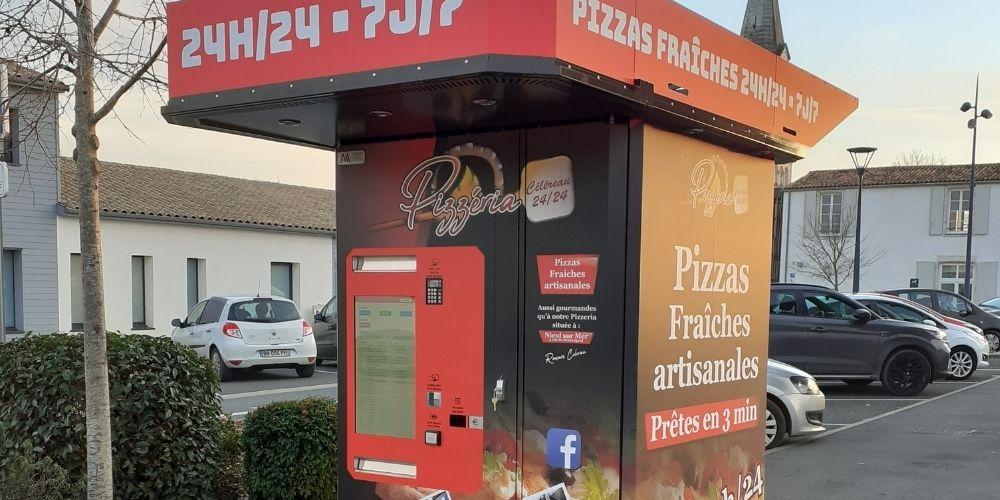 Distributeurs de pizzas dans le 49, 44, 85, 79 et 17