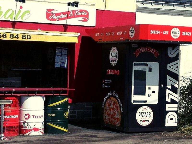 distributeur automatique de pizzas 79, 85, 79,17, 44, 49