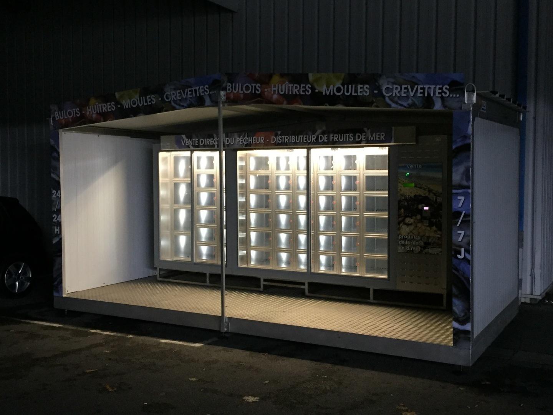 distributeurs à casiers dans l'Ouest